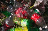 Fácil y rápida homestead utiliza botellas de plástico (PET)