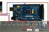 Sistema de alarma antirrobo entrada protector basado en Arduino