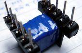 Pequeño transformador que hace el procedimiento - para placas de circuitos de baja potencia