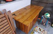 Nueva caja de herramientas de la madera de la plataforma