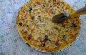 Cómo hacer pizza (Real fácil)
