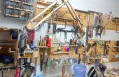 Articulado de soporte de la herramienta rotatoria (Artes)