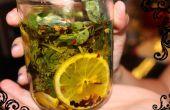 Infusionar el aceite de oliva durante una cena sabrosa
