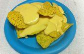 Salsa de queso Nacho de experimento Scratch