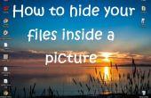 Cómo ocultar archivos dentro de una imagen