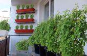 A partir de un jardín de balcón