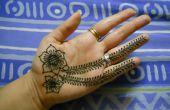 Cómo diseño de henna para principiantes