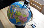 Motorizado de globo del mundo