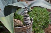 ∴ ∴ de torre de piedras de jardín (ometto)