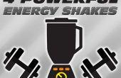 4 batidos de poderosa energía