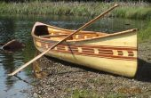 Construir mi canoa de cedro tira