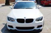 Instalar faros de ojos de Angel LED BMW