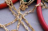 Antigua cadena - alambre trabajo Tutorial