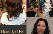 Cómo utilizar rodillos de pelo