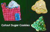 Corte galletas de azúcar