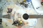 Cómo Decoupage una guitarra