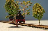 Ferrocarril de N árboles (escala 1/160)