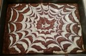 Brownies de queso crema de Web Spider