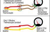 Cómo identificar los cables rojo y amarillo en un termopar con un imán!