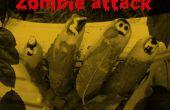 DIY Zombie perfumado resplandor en el oscuro uñas