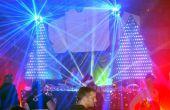 Video trazado de árboles de Navidad de LED