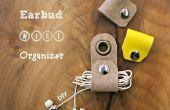 Organizador de cable de auricular