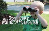 Spy Gear binoculares!  Artes del niño pequeño!  De rollos de papel higiénico!