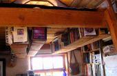 Tableros y fardo guita: Una viga estantería