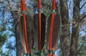 Flechas de bambú