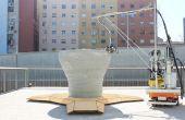 Minibuilders - cómo estructuras gran impresión 3d con pequeños robots