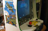 Máquina de arcade retro