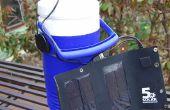 Personal Solar accionado aire acondicionado
