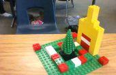 Yarda de vacaciones de invierno de LEGO