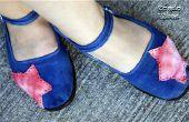 Zapatos de Coth gota de tinte