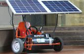 Solar Powered Go Kart