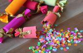DIY confeti Party Poppers