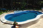 Calentador de agua solar para piscina