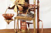 Steampunk reversa máquina Peltier (aka el ambientador de sala de electro-mecánicos)