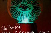 Cambio todos ver ojo bola de cristal de color