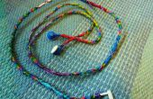 Como hacer auriculares coloridos con hilo