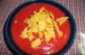 Sopa de patata dulce-remolacha
