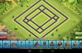 Choque de agricultura Base de clanes-D9