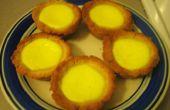 Cómo hacer tartas de huevo hecha en casa