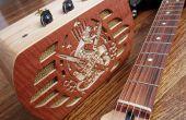 Amplificador de guitarra de caja de la joyería