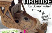 "Arcadem Cardboredem ""HOOPZ""-Mini Baloncesto Arcade Coinbank"
