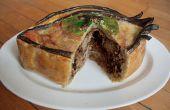 Pie-Eyed empanada de carne: Cerdo tirado de borracho