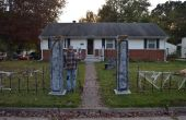 Columnas de cementerio