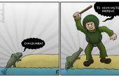 Cómo hacer una caricatura política
