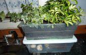 Agradable olor híbrido interior compostera y plantador