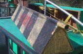 Manillar plano de marco de madera por Jeff King – construido a desmenuzar